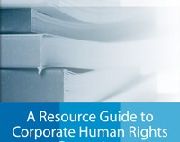 A Resource Guide to Corporate Human Rights Reporting image